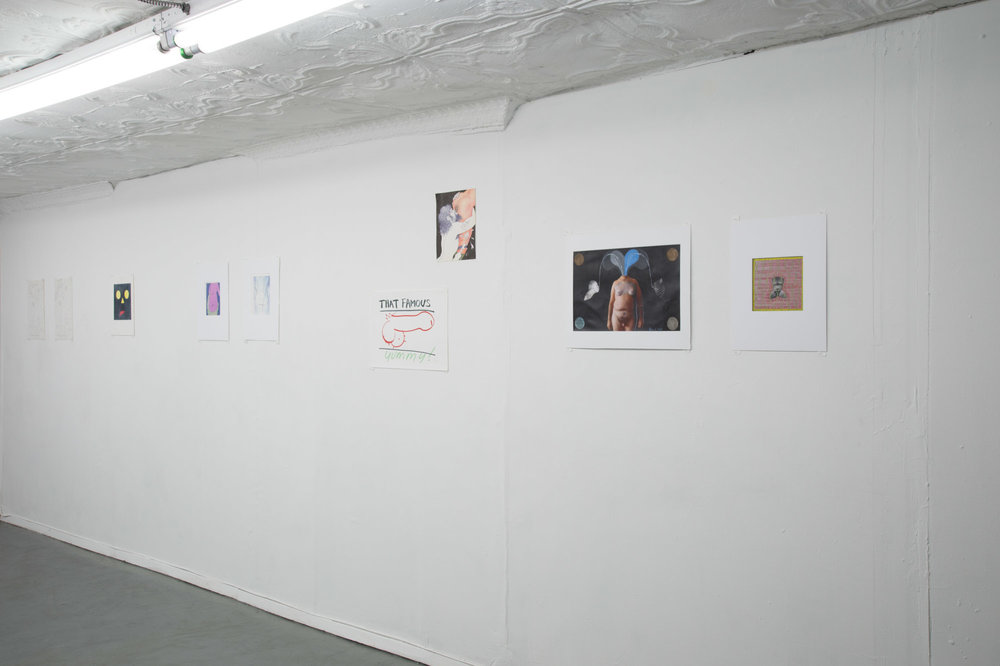 Installation view,  The Birth of Art , STL, NY, 2017