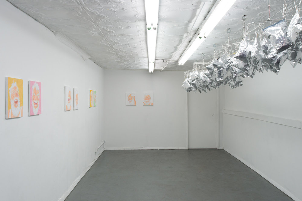 Installation view,  My Love, Dan and Potato Chips , STL, NY, 2017