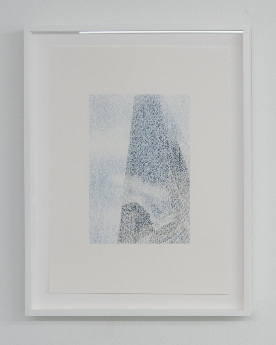 Elizabeth Karp-Evans,  Untitled , 2017, framed color photo transfer on paper, 17 ½ × 13 ½ in