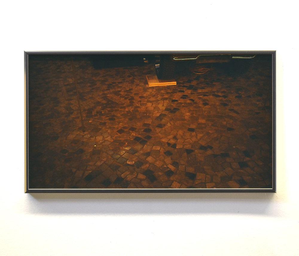 Megan Plunkett, Computer Operator, 2018, digital C-print on glossy paper, aluminum frames, 9 × 16 in