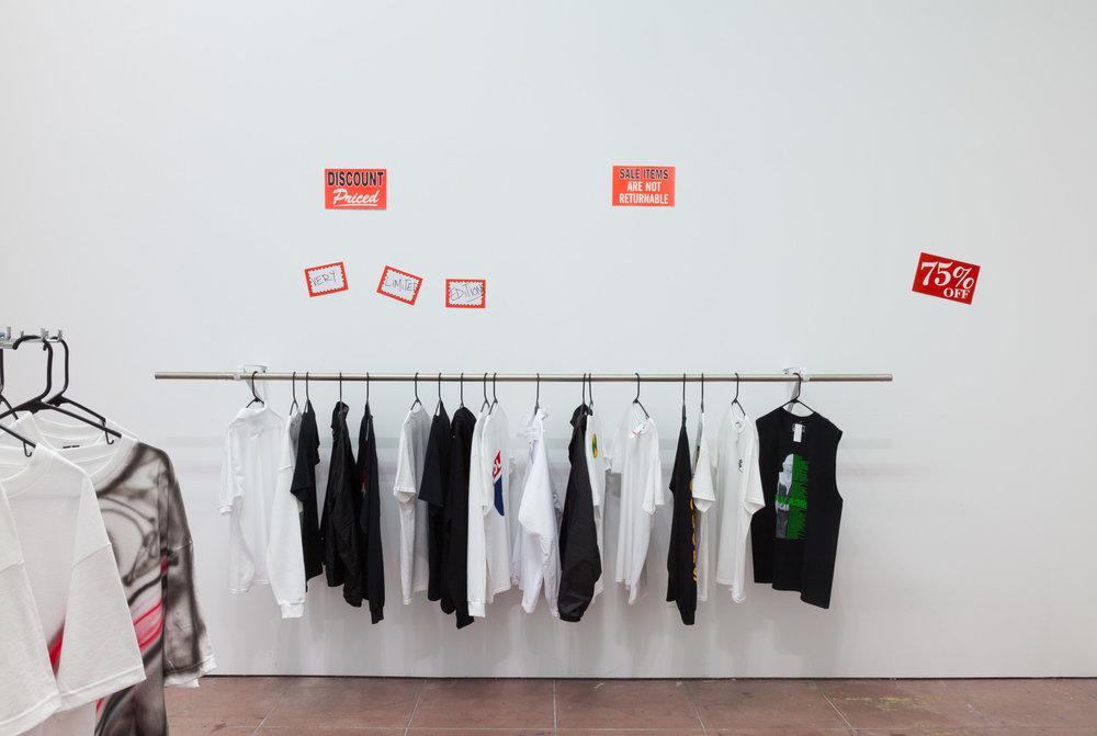 Installation view, EBO CLUB™, STL LA, 2018