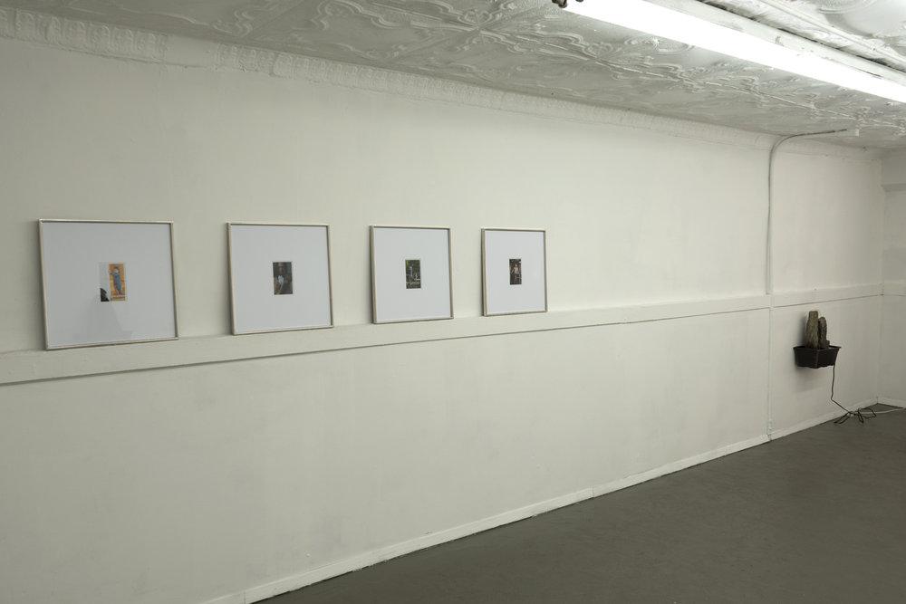 Installation View,  Geschichten,  Ben Morgan-Cleveland & Eli Ping, New York, NY 2018