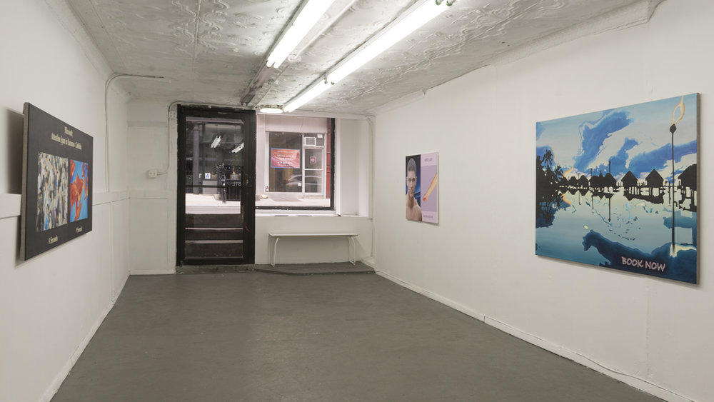 Installation view: FLAME, 2019, STL NY