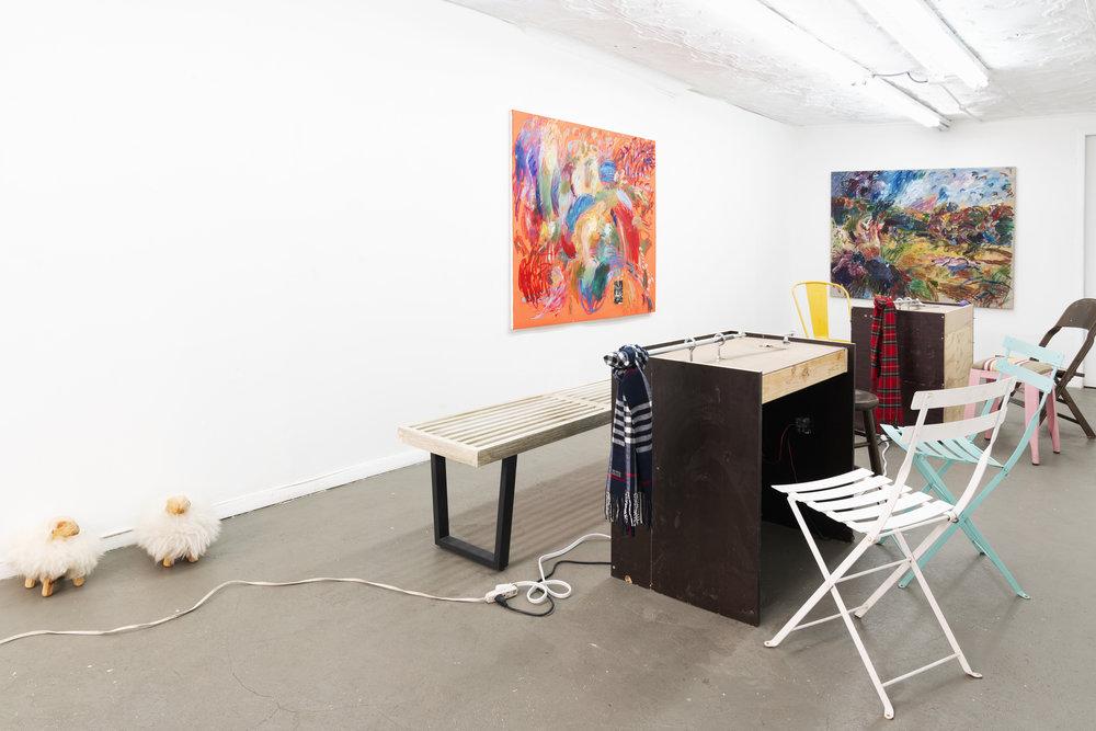 Installation view:  Penal Café , STL NY, 2019