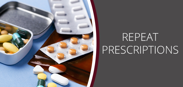 no prescription requests can be processed when the practice is closed over public holidays or weekends