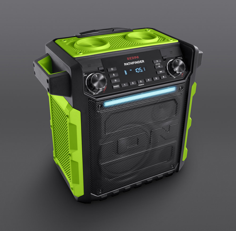 ION Pathfinder Green Angle