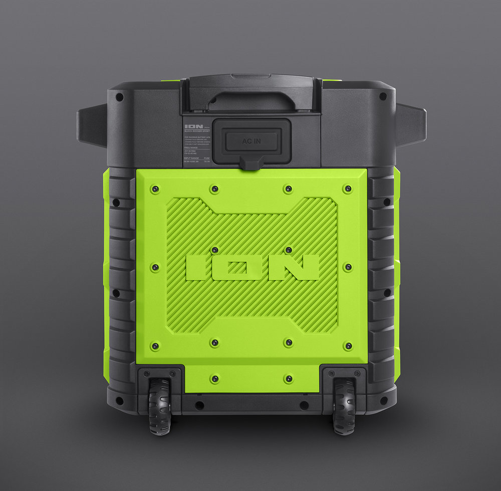 ION Pathfinder Green Back