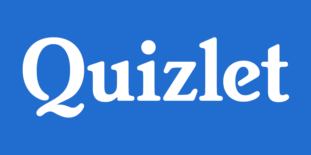 Quizlet - Be prepared for your quizzes and tests!
