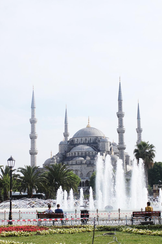 sultanahmet camii (the blue mosque)