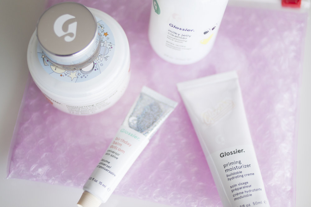 Glossier Haul & Review