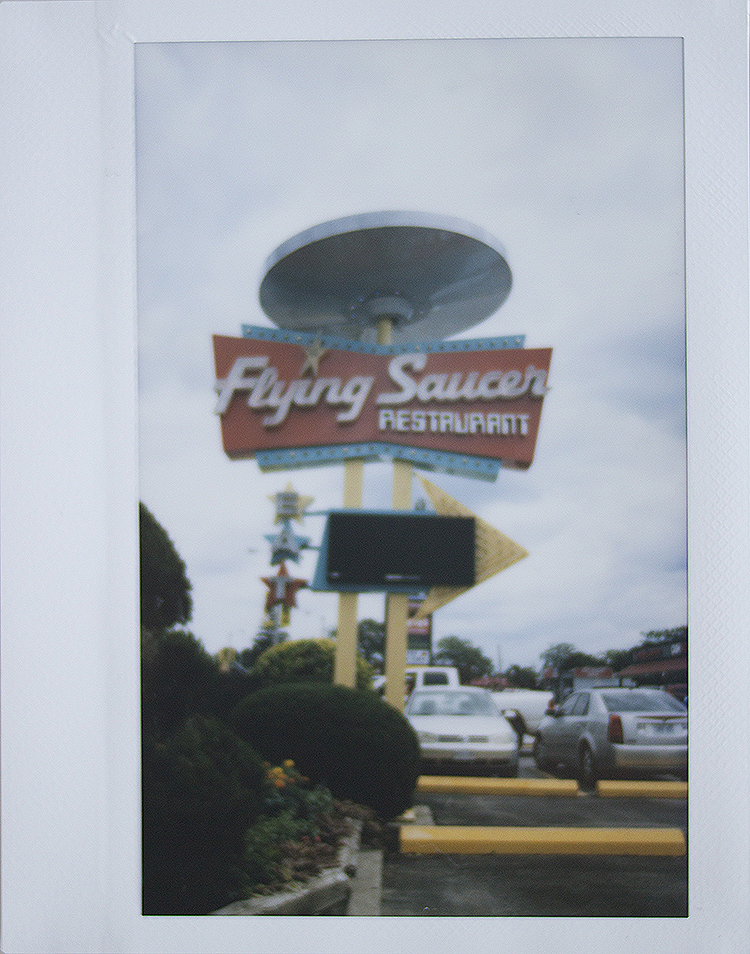 The Flying SaucerRestaurant - While in Niagara we decided to get lunch at a kitschy af diner called the Flying Saucer and it was out of this world (lel).The food wasn't anything special, but the (onion) Saturn Rings were pretty good, and the menu was space themed, so the novelty alone was enough enjoyment for us.Other than that it was nice to see a familiar face and to be able to show someone why we love Toronto so much (mostly by eating at all our fave places).