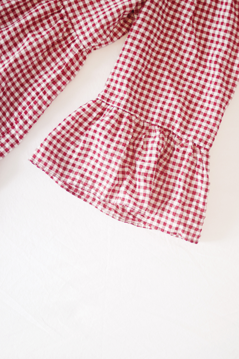 - One of the biggest trends that has come around lately is gingham. I've loved gingham for years and already had a lot in my wardrobe, so it's not exactly new for me, and it's definitely not the kind of thing I'm going to grow out of in 6 months.When something you already love becomes a trend, one good thing about it is that you have a lot to choose from, so you can wait for something perfect to come along rather than buying the only thing you've seen because you don't come across it very often.As much as I was tempted by all the cute gingham things I saw, I was definitely running the risk of doubling up, so I only bought two gingham pieces this summer and I love both of them, as well as all the gingham that I already owned and wore all the time. Red has been another one I've seen popping up a lot, which also suits me just fine. I'm not trying to be all like ~I'm so ahead of the curve~ but red has always been a staple colour in my wardrobe. And as I said, when something you love becomes trendy it's a good opportunity to add some really perfect items to your wardrobe that you'll be able to wear for years.