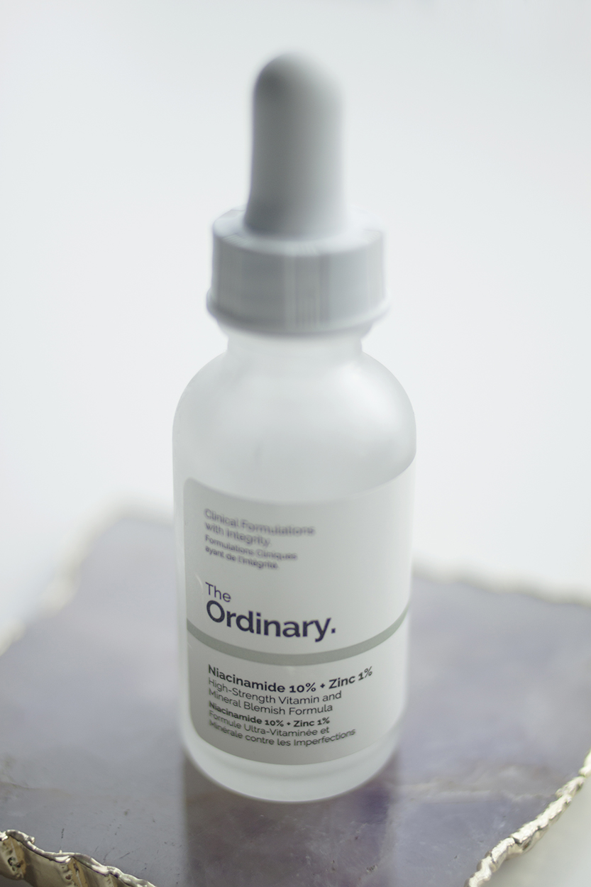 "Niacinamide (Vitamin B3)  - WHAT IT DOES: it's cell-communicating, so it encourages your cells to produce more collagen and ceramides which help the skin retain moisture, while also helping improve the appearance of fine line and uneven skin tone, and it can help with acne and skin congestion. HOW I USE IT: I'll use it either morning or night, and so far it's layered just fine with everything else in my routine. WHAT I'M USING: Again, because I spoke about Niacinamide 10% + Zinc 1% in my post about The Ordinary, I'll keep this brief. But I do think it's worth reiterating that I love this product and that using this has convinced me that niacinamide needs to be on my ""not-negotiable"" list. I've used products that contained niacinamde in the past, but none at this kind of concentration, and none that put the ingredient front and centre in the product. My skin has definitely benefited from me including this in my routine and I'm really glad that I tried it.  I find that this product evens out my skin texture and takes care of the little bumps/congestion I would get around my chin/jawline when nothing else seemed to work. And as I mentioned earlier, layering this with Luna at night leaves my skin looking beautiful in the morning. I'm just coming to the end of this bottle now and I've got a backup waiting to go."