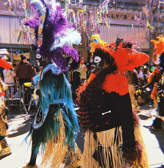 Happy Mardi Gras! Laissez le bon temps rouler! 🎉🎲✨(Saw the Zulu parade and caught a coconut!)