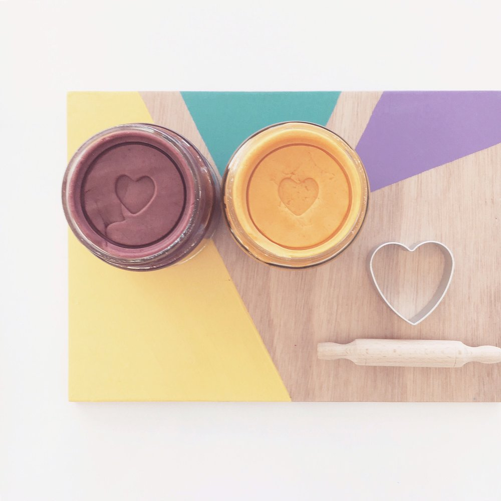 All Natural Play Doh from Happy Hands Happy Heart.
