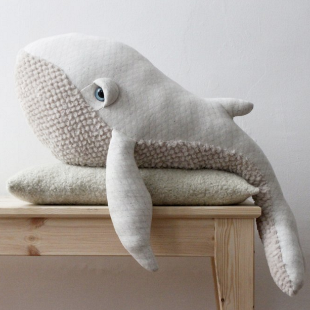 Big Albino Whale from Big Stuffed