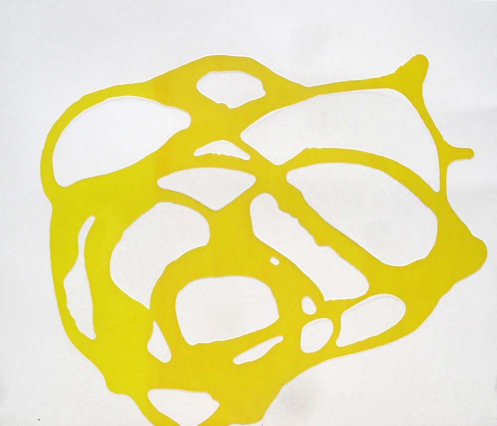 Untitled Cadmium Yellow 2014