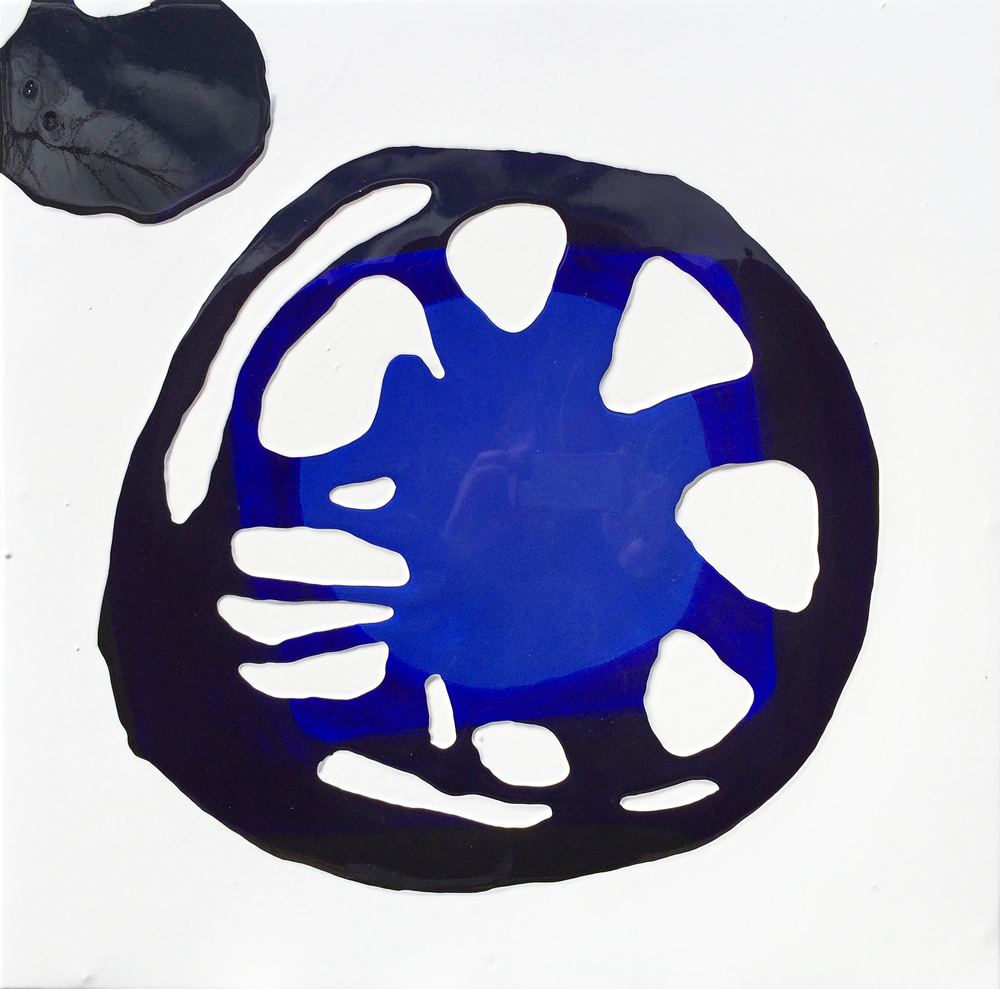 cobalt blue ultramarine black spontaneous pour with black blob 21 July 1-30pm.jpg