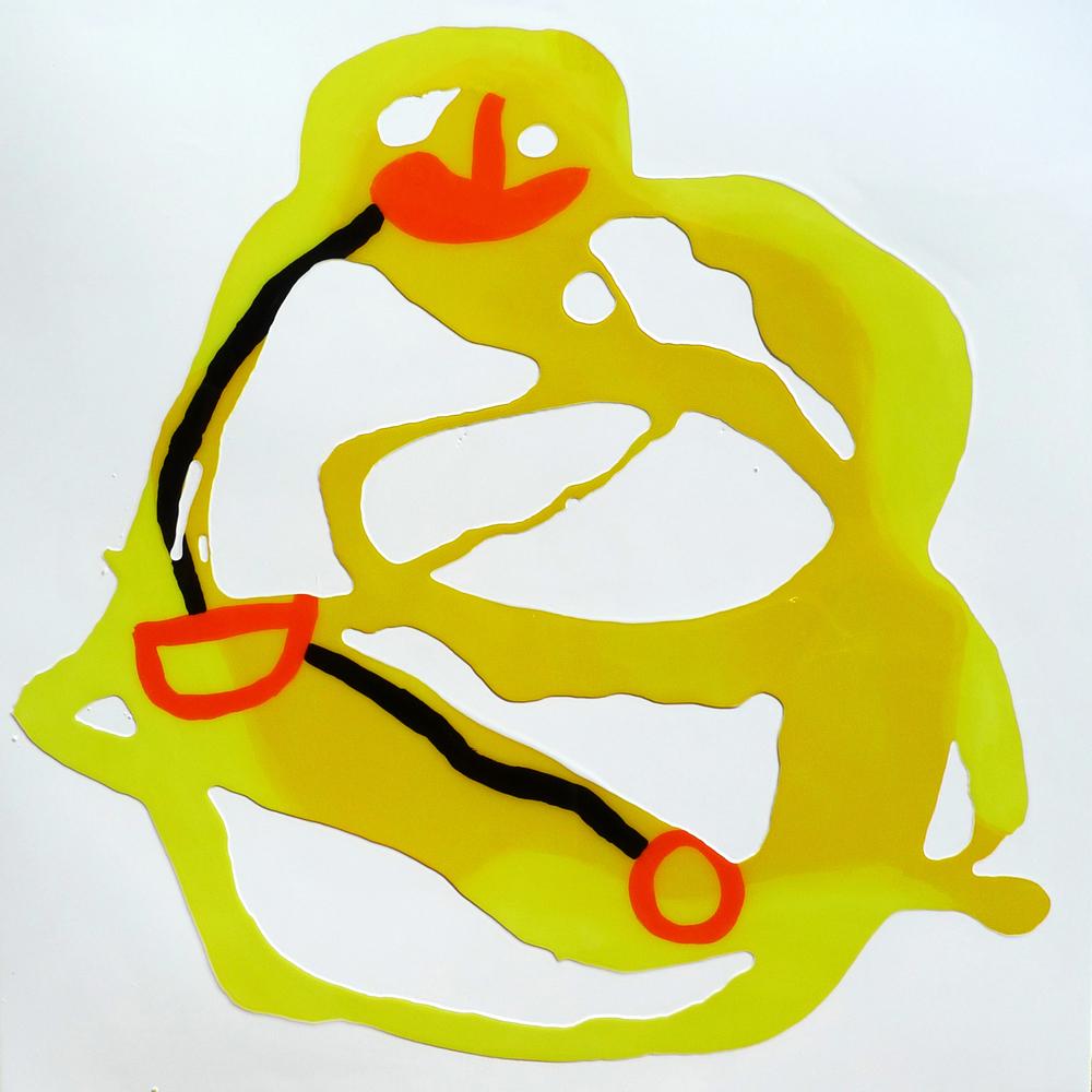 Yellow Orange Black Line 2010