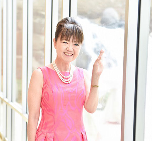 Our founder: Tomoko Kono-Hirayama