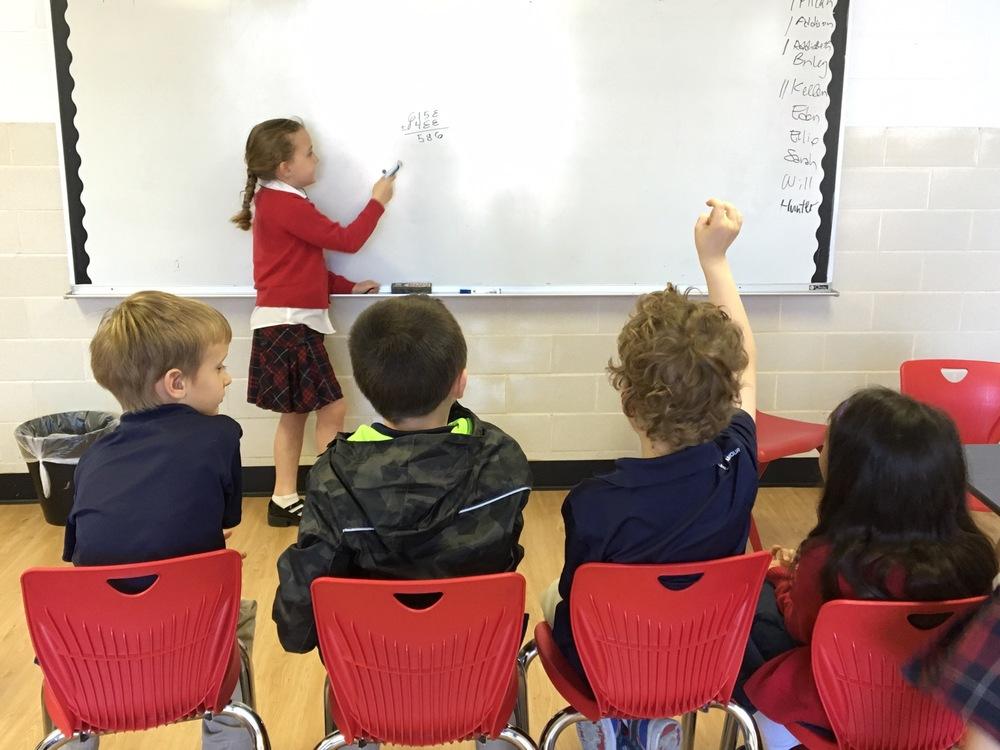 Paratus Classical Academy Classroom