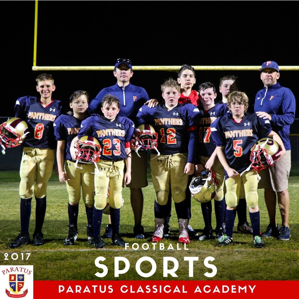 First Paratus Football Team