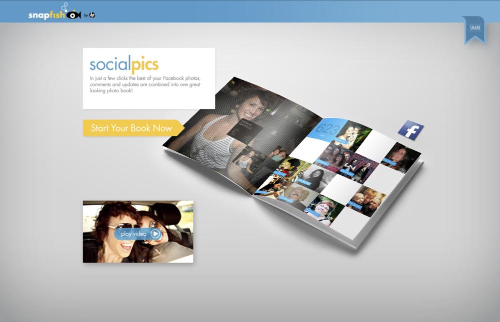Snapfish: SocialPics