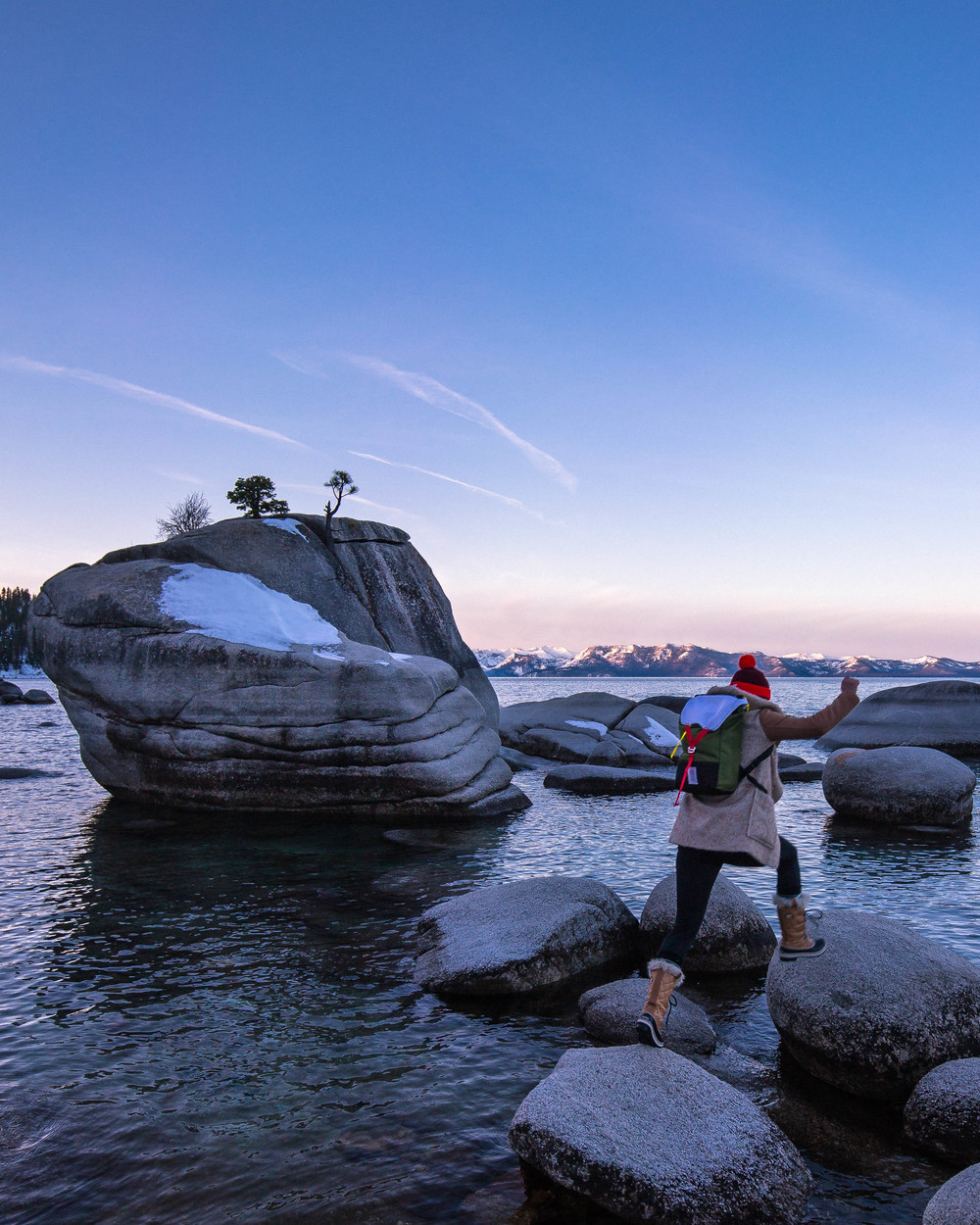 Topo Designs Y-Pack Bonsai Rock Lake Tahoe