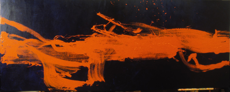 The awakening (orange & blue)