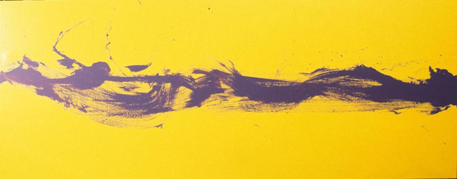 The awakening (purple & yellow) 1996