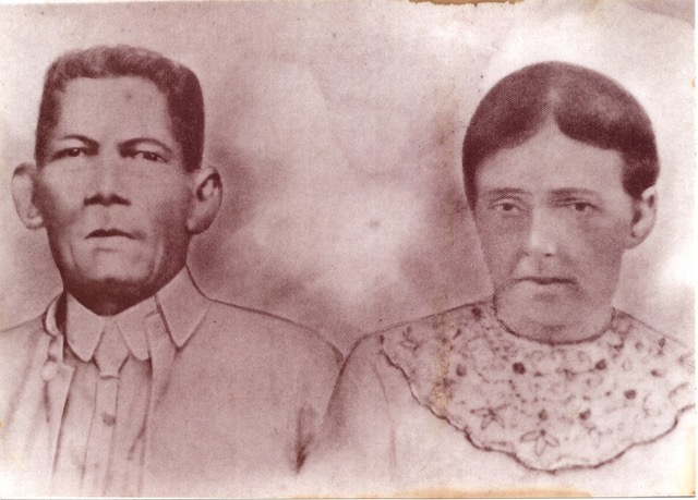 My great-great grand father & ship Captain Carlos Ga (Pilipino/Spanish) with his Welsh wife Anne.