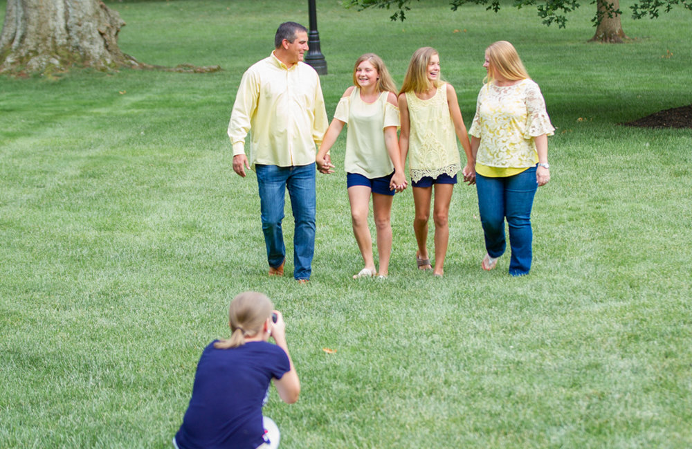 You can bet that I'll make you hold hands during your family session, and you'll end up genuinely cracking up in the process.