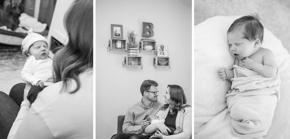 Newborn Lifestyle Photos by Katie Jaynes Photography