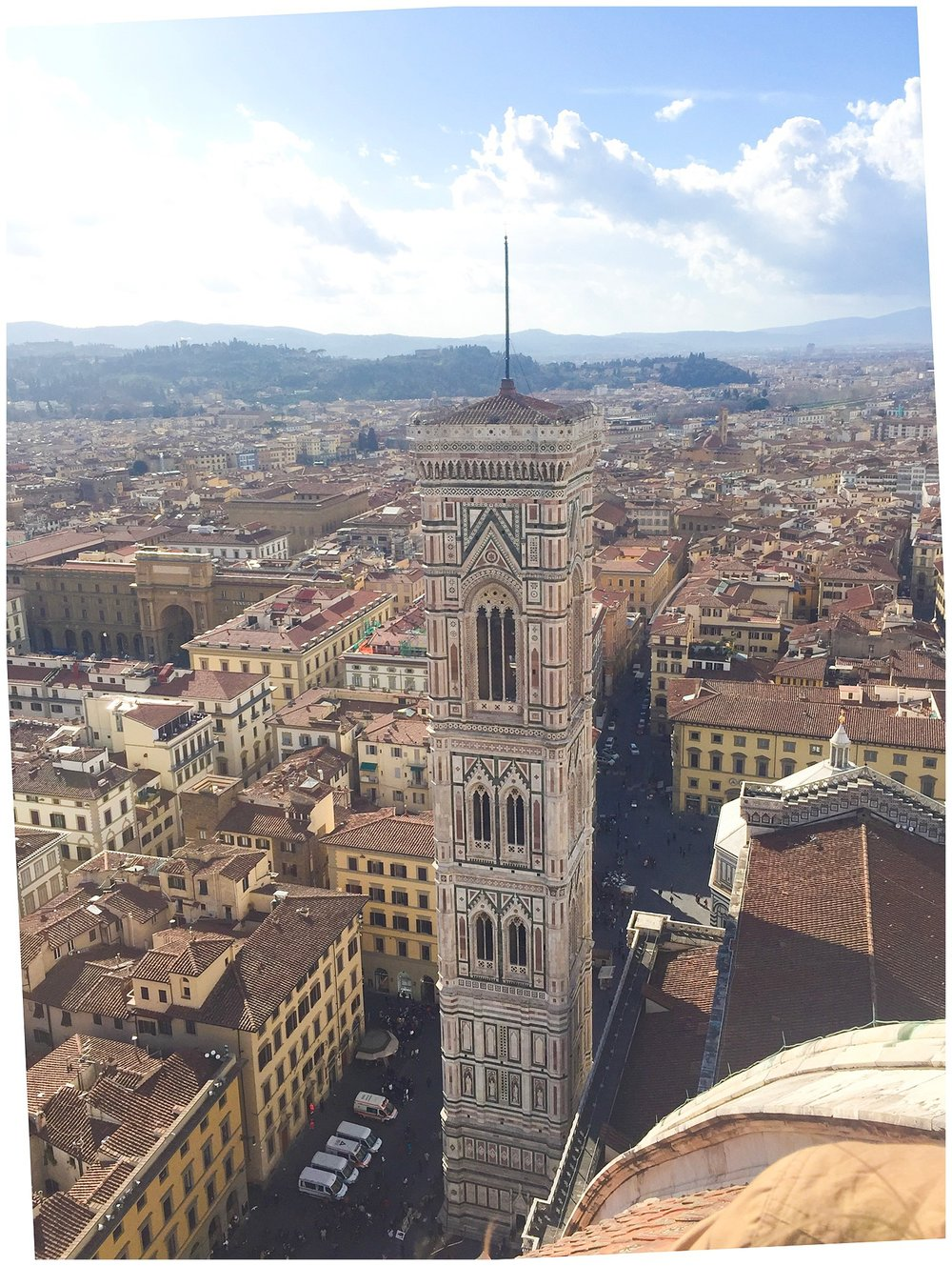 The Duomo Bell Tower in Florence
