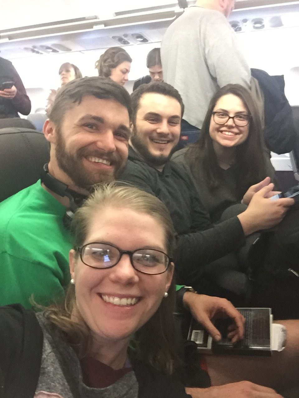 We made friends on the 6 hr plane ride from London to Pisa! Yall were so fun William and Eva!