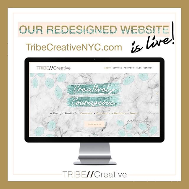 Have you checked out our newly redesigned website yet? We've added new blogs, new design projects, a new playlist and new opportunities to make a difference (through @divonaofficial – a female-owned perfume company that supports women rebuilding their lives after abuse and trafficking). We also wanted to provide a more in-depth look at our services and creative process as well. So head over to our site and peruse around a little, and of course, feel free to send us a note via the contact page :) #empoweredtribe