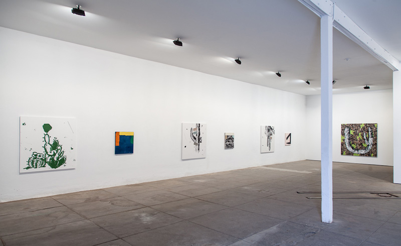 MARK COLE, Holiday (installation view)