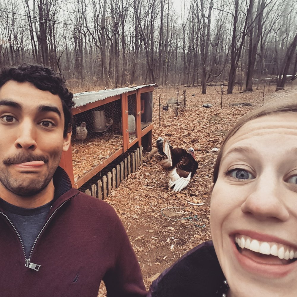 Hassan and Ana visit (and make friends in) the home of the fallen American walnut trees that kicked this whole thing off: Hassan's uncle's farm in Quakertown, PA.
