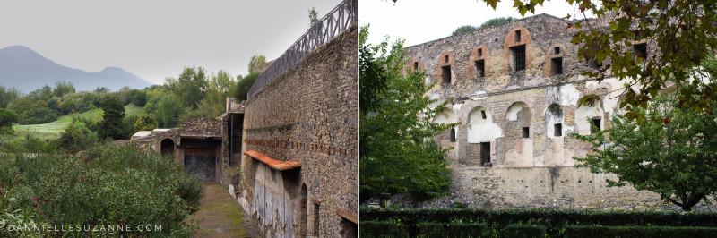 Europe trip to Pompeii Italy