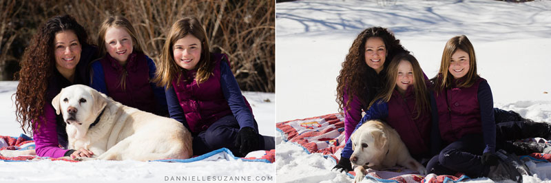 leroy and his girls - london ontario family photographer