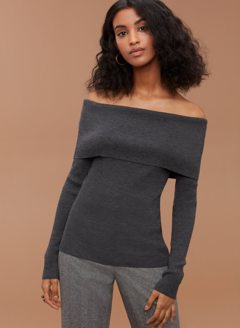 Aritzia off the shoulder sweater.jpg