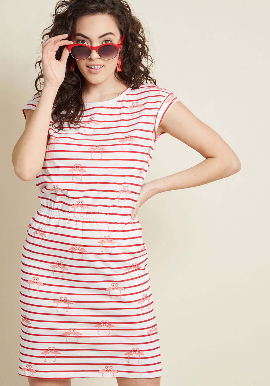 flamingo striped dress Modcloth.jpg
