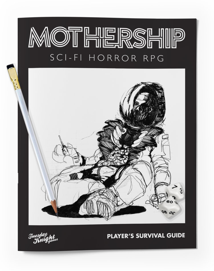 mothership player s survival guide tuesday knight games