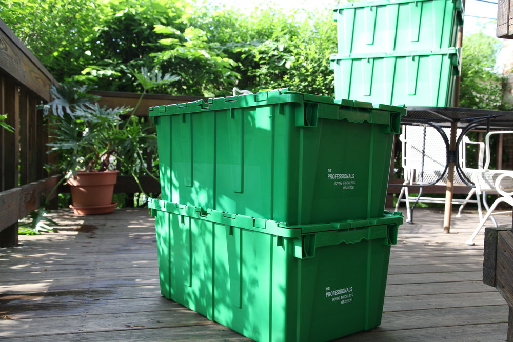 plastic moving box tips
