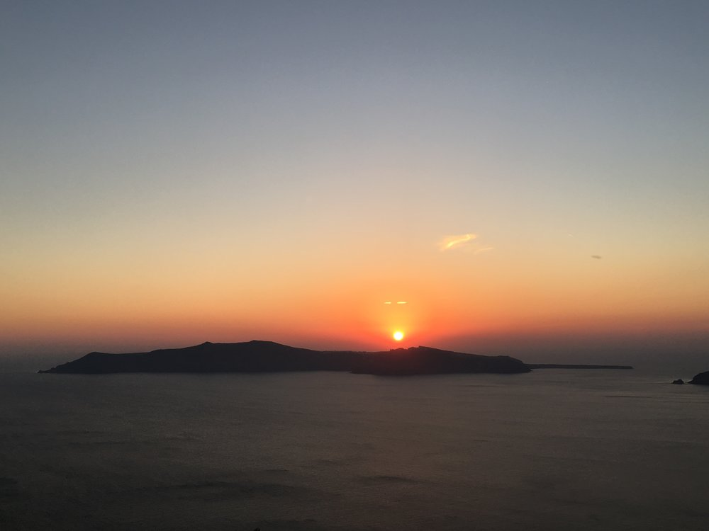 Santorini sunset