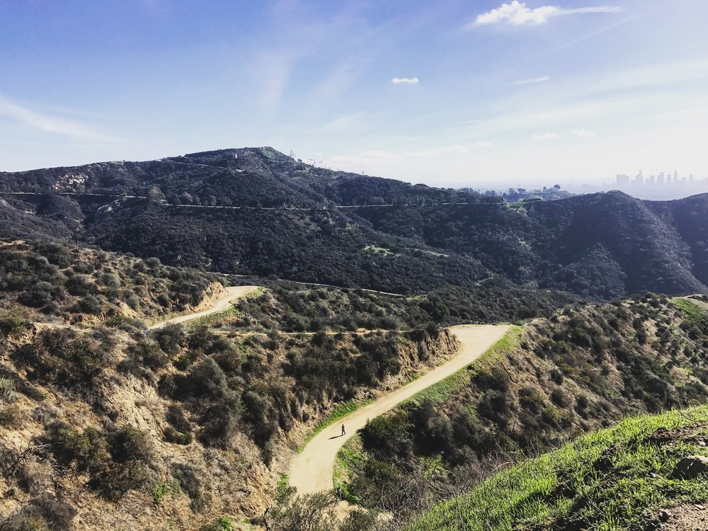 Hollywood hike from Griffith Observatory