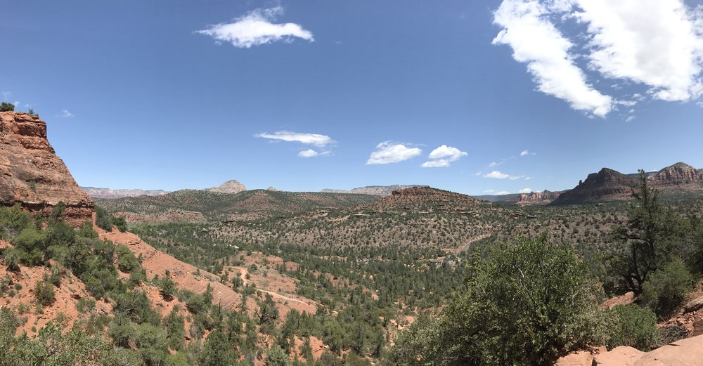Views from the side of Cathedral Rock