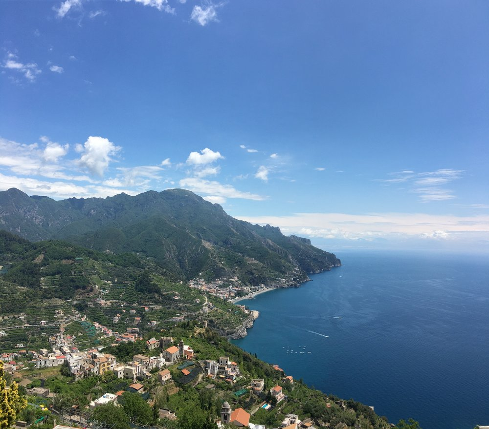 View from Ravello!