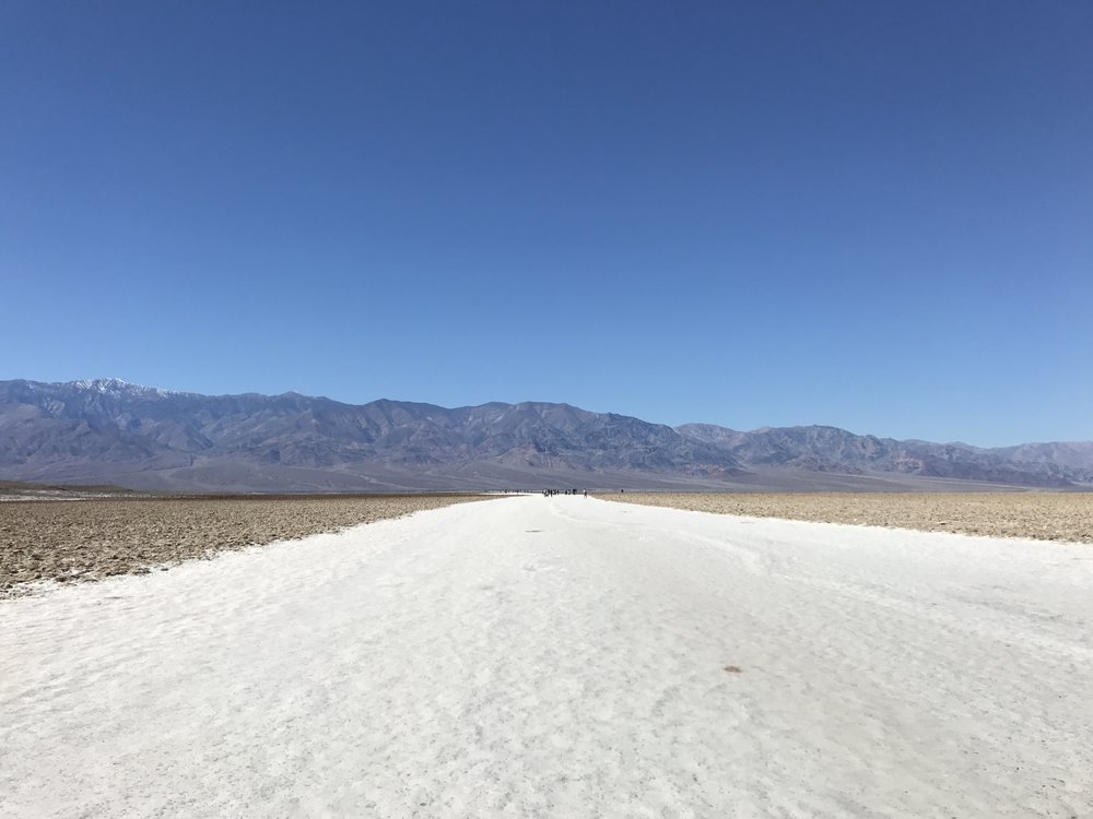 The flat of the land (salt flats!)