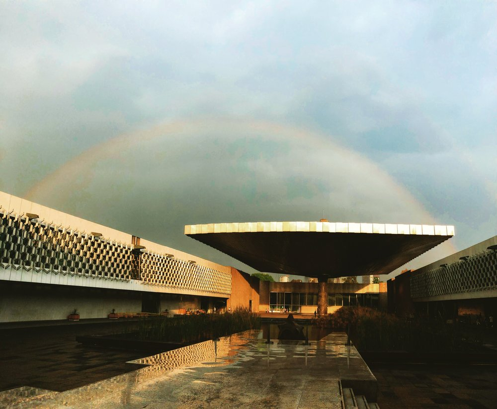Somewhere over the rainbow at the Museum of Anthropology